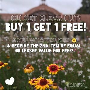 Find '🌼' for BOGO Deals!